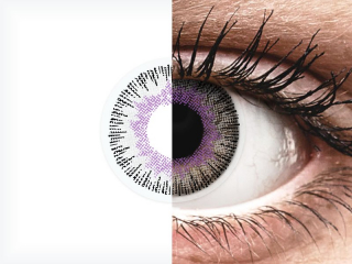 ColourVUE Fusion Violet Gray - dioptria nélkül (2 db lencse)