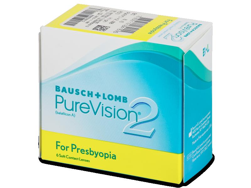 Purevision 2 for Presbyopia (6 db lencse) - Multifokális kontaktlencsék