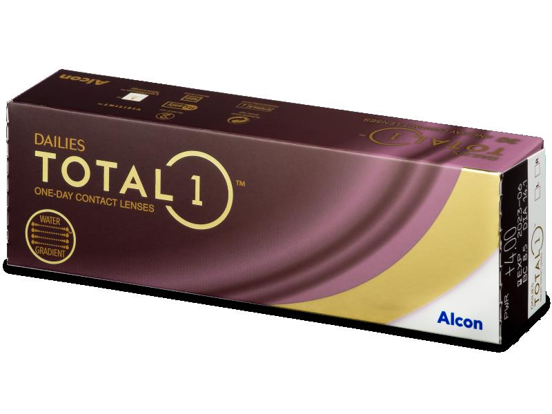 Dailies TOTAL1 (30db lencse) - Napi kontaktlencsék