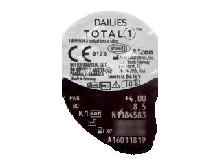 Dailies TOTAL1 (30db lencse) - Buborékcsomagolás előnézete