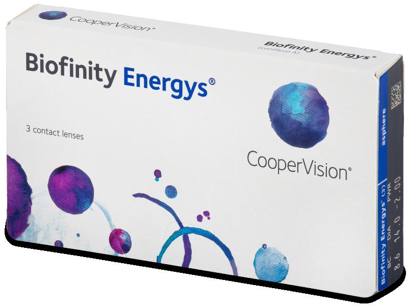 Biofinity Energys (3 lencse) - Contact lenses