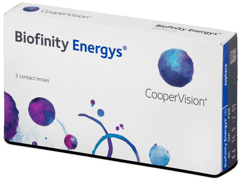 Biofinity Energys (3 lencse) - Havi kontaktlencsék