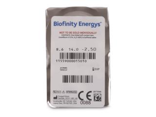 Biofinity Energys (3 lencse) - Buborékcsomagolás előnézete