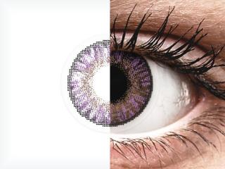 FreshLook ColorBlends Amethyst - dioptria nélkül (2 db lencse)