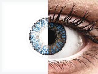 FreshLook ColorBlends True Sapphire - dioptria nélkül (2 db lencse)
