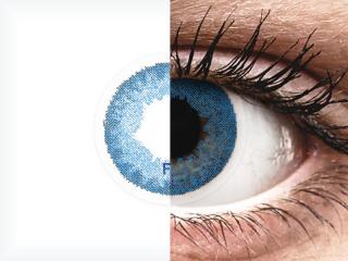 FreshLook Dimensions Pacific Blue - dioptriával (6 db lencse)