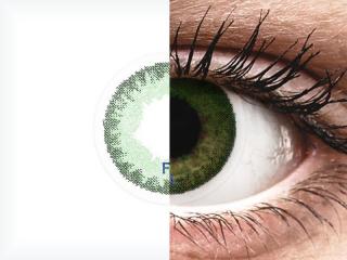 FreshLook Dimensions Sea Green - dioptria nélkül (2 db lencse)