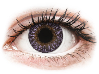TopVue Color - Violet - dioptriával (2 db lencse)