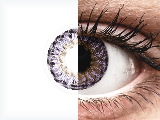 TopVue Color - Violet - dioptria nélkül (2 db lencse)