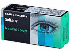 SofLens Natural Colors Dark Hazel - dioptria nélkül (2 db lencse)