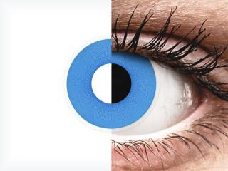 ColourVUE Crazy Lens - Sky Blue - dioptria nélkül napi lencsék (2 db lencse)