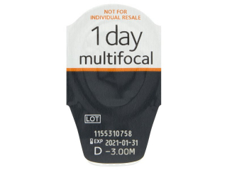 Proclear 1 Day Multifocal (30db lencse) - Buborékcsomagolás előnézete