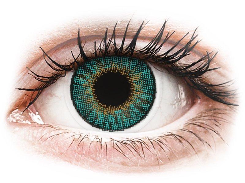 Air Optix Colors - Turquoise - dioptriával (2 db lencse)