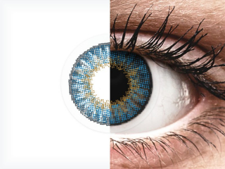 Air Optix Colors - True Sapphire - dioptriával (2 db lencse)