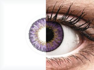 Air Optix Colors - Amethyst - dioptria nélkül (2 db lencse)