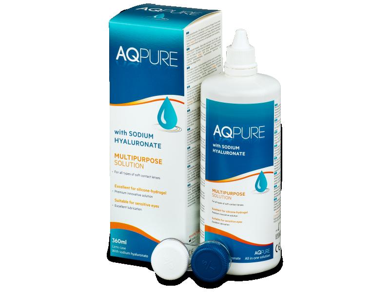 AQ Pure kontaktlencse folyadék 360ml  - Ápolószer