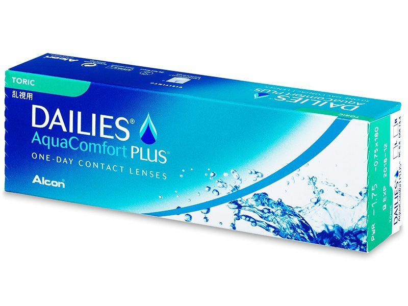 Dailies AquaComfort Plus Toric (30db lencse) - Tórikus kontaktlencsék