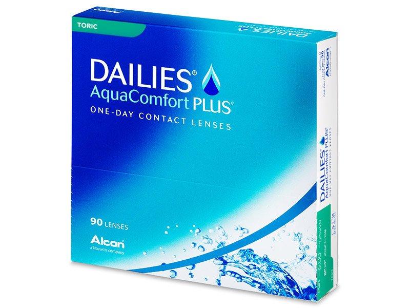 Dailies AquaComfort Plus Toric (90db lencse) - Tórikus kontaktlencsék