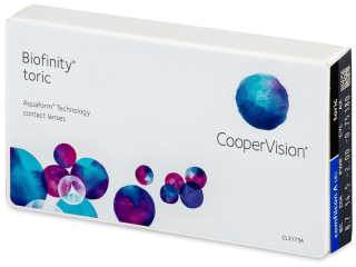 Biofinity Toric (6db lencse)