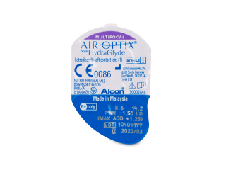 Air Optix plus HydraGlyde Multifocal (3 db lencse)