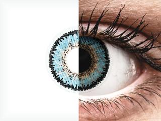 ColourVUE 3 Tones Aqua - dioptria nélkül (2 db lencse)
