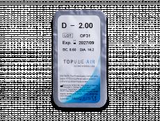 TopVue Air (6 db lencse)  - Buborékcsomagolás előnézete