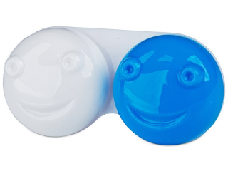 3D Kontaktlencse tartó - kék