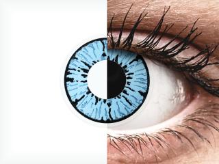 ColourVUE Crazy Lens - Blizzard - dioptria nélkül (2 db lencse)
