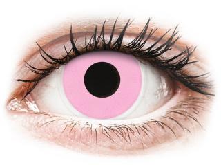 ColourVUE Crazy Lens - Barbie Pink - dioptria nélkül (2 db lencse)