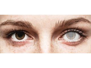 ColourVUE Crazy Lens - White Screen - dioptria nélkül (2 db lencse)