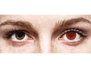 ColourVUE Crazy Lens - Red Screen - dioptria nélkül (2 db lencse)