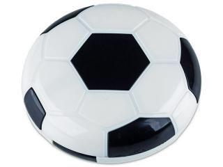 Lencse tartó tükörrel - Futball labda - fekete