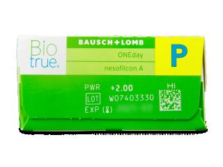 Biotrue ONEday for Presbyopia (30db lencse) - Paraméterek előnézete