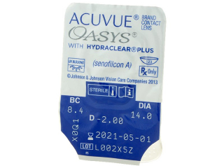 Acuvue Oasys (12db lencse) - Buborékcsomagolás előnézete