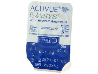 Acuvue Oasys (24 db lencse) - Buborékcsomagolás előnézete