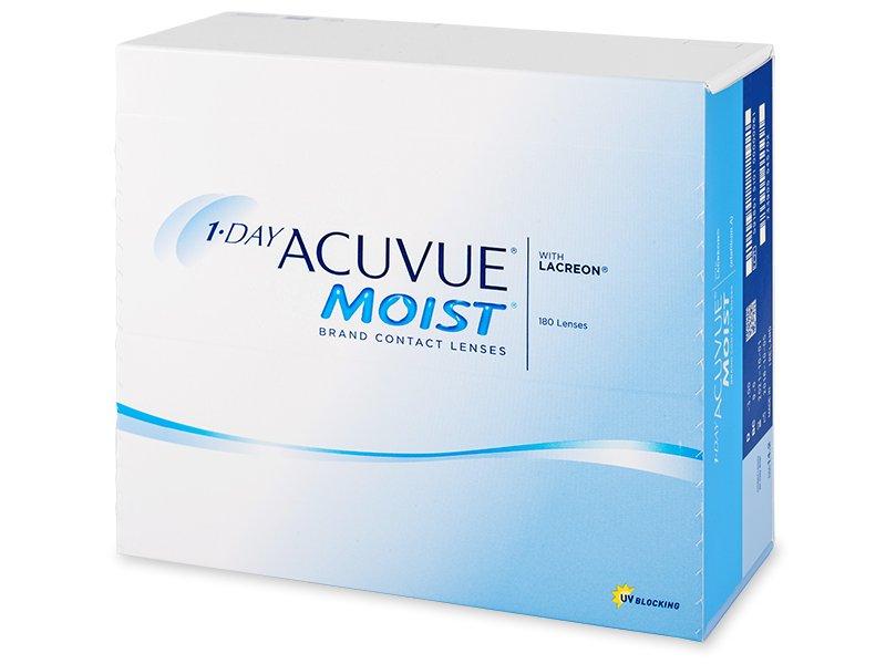 1 Day Acuvue Moist (180db lencse) - Napi kontaktlencsék
