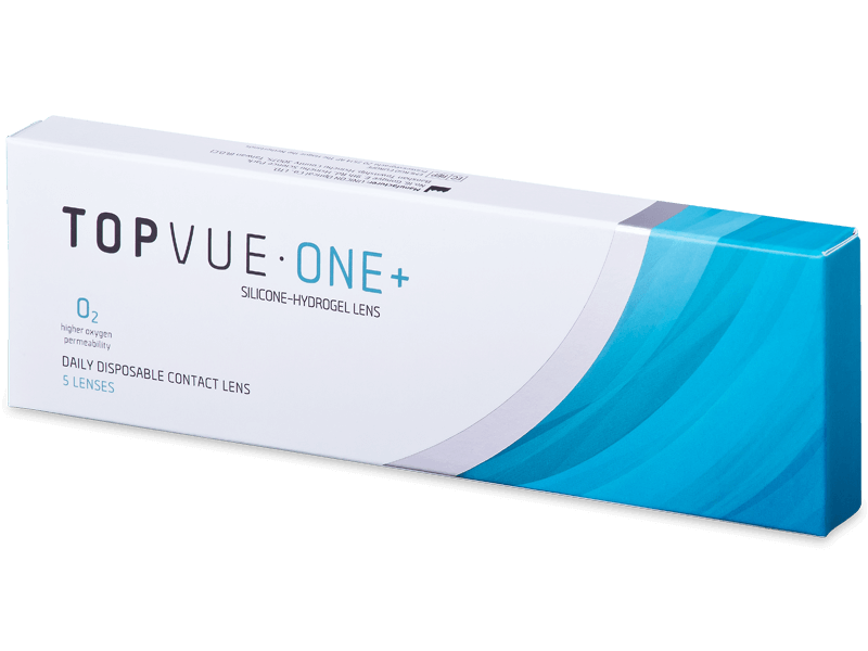 TopVue One+ (5 db lencse) - Napi kontaktlencsék