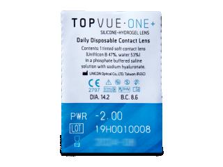 TopVue One+ (30 db lencse) - Buborékcsomagolás előnézete