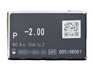 Miru 1 Day UpSide (30 db lencse) - Paraméterek előnézete