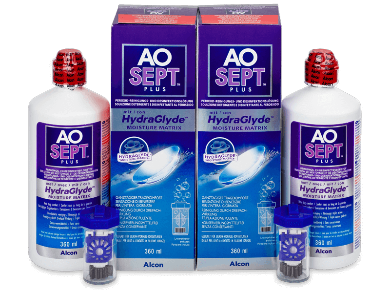 AO SEPT PLUS HydraGlyde ápolószer 2x360ml  - Gazdaságos duo kiszerelés - ápolószer