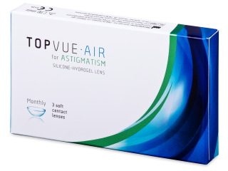 TopVue Air for Astigmatism (3 db lencse)