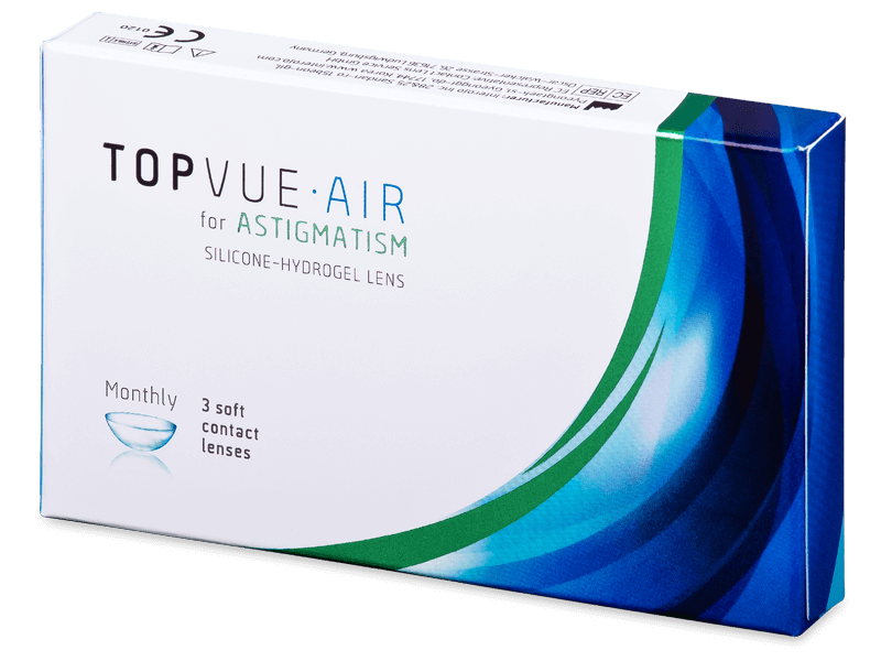 TopVue Air for Astigmatism (3db lencse) - Tórikus kontaktlencsék