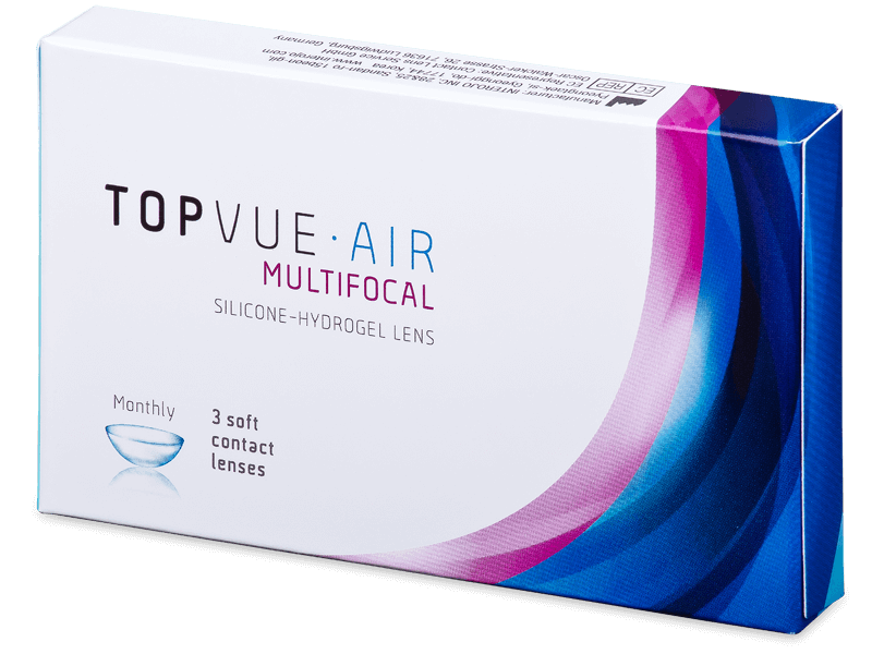 TopVue Air Multifocal (3 db lencse) - Multifokális kontaktlencsék