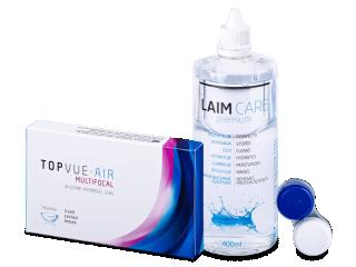 TopVue Air Multifocal (3db lencse) + 400 ml Laim-Care ápolószer