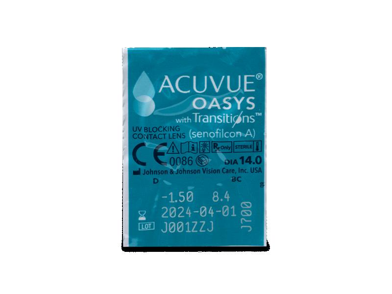 Acuvue Oasys with Transitions (6 db lencse) - Buborékcsomagolás előnézete