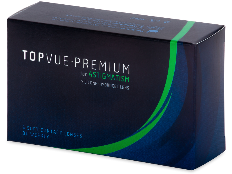 TopVue Premium for Astigmatism (6db lencse) - Tórikus kontaktlencsék