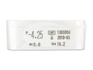 Miru 1 Day (30 db lencse) - Paraméterek előnézete