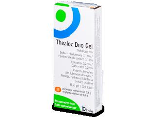 Thealoz Duo Gel szemcsepp 30x 0,4g  - Ápolószer