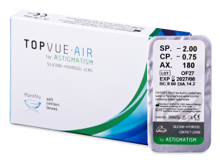 TopVue Air for Astigmatism (1 db lencse)