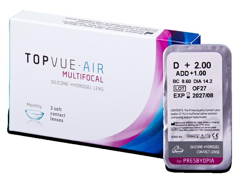 TopVue Air Multifocal (1 db lencse)